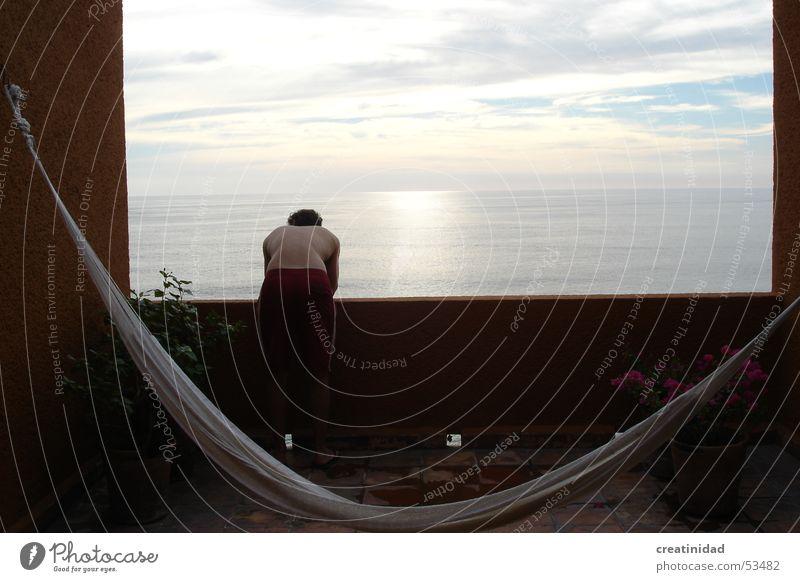 z en ixtapa Wasser Himmel Sommer Erholung Wärme orange Physik Mexiko Swing Chiapas Ixtapa