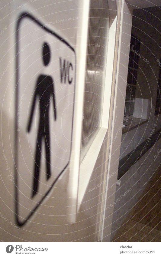 WC Mann Toilette Fototechnik