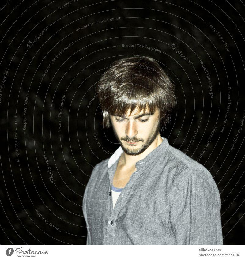 Nicolas Sommer maskulin Junger Mann Jugendliche 1 Mensch 18-30 Jahre Erwachsene brünett kurzhaarig Bart Dreitagebart authentisch einzigartig natürlich positiv