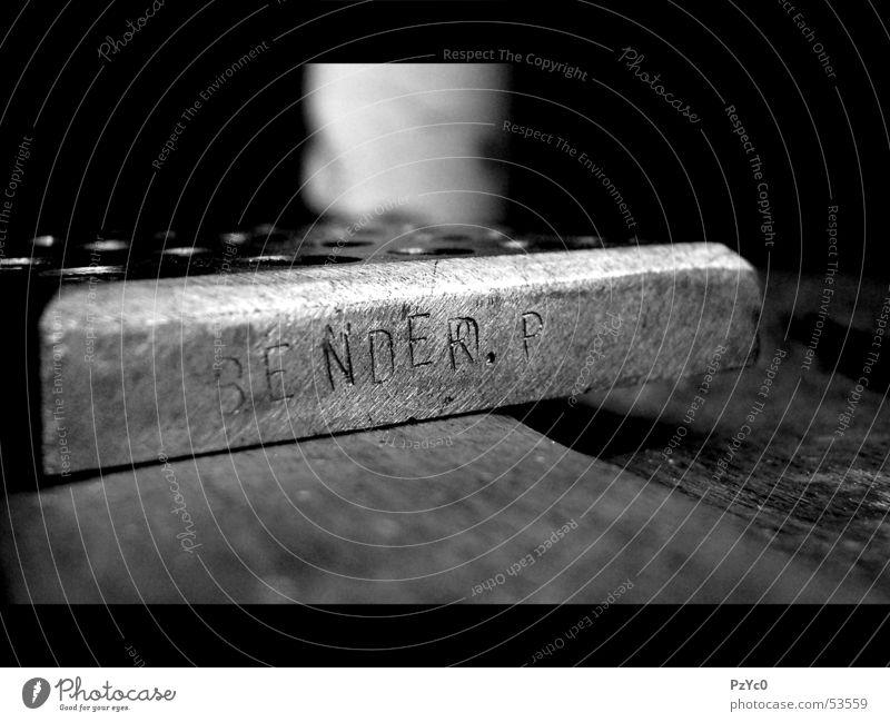 Stahlarbeit Eisen Handwerk Arbeit & Erwerbstätigkeit Makroaufnahme schwarz weiß Handarbeit Industriefotografie Kunstwerk