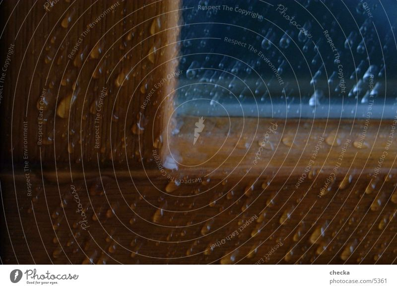 regentropfen Wasser Fenster Regen Wassertropfen Fototechnik