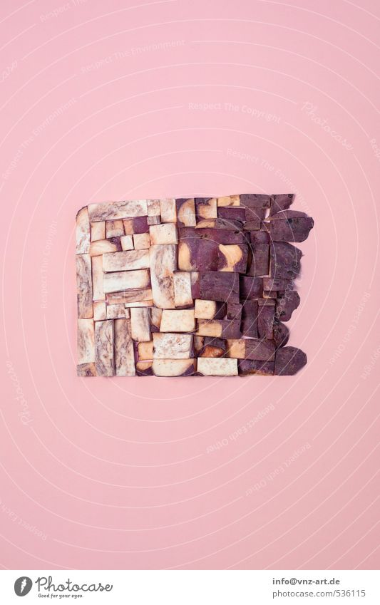 Kumara Farbe Pflanze Kunst braun rosa Design Ordnung modern verrückt süß Kochen & Garen & Backen Konzepte & Themen Küche Teile u. Stücke Gemüse Teilung