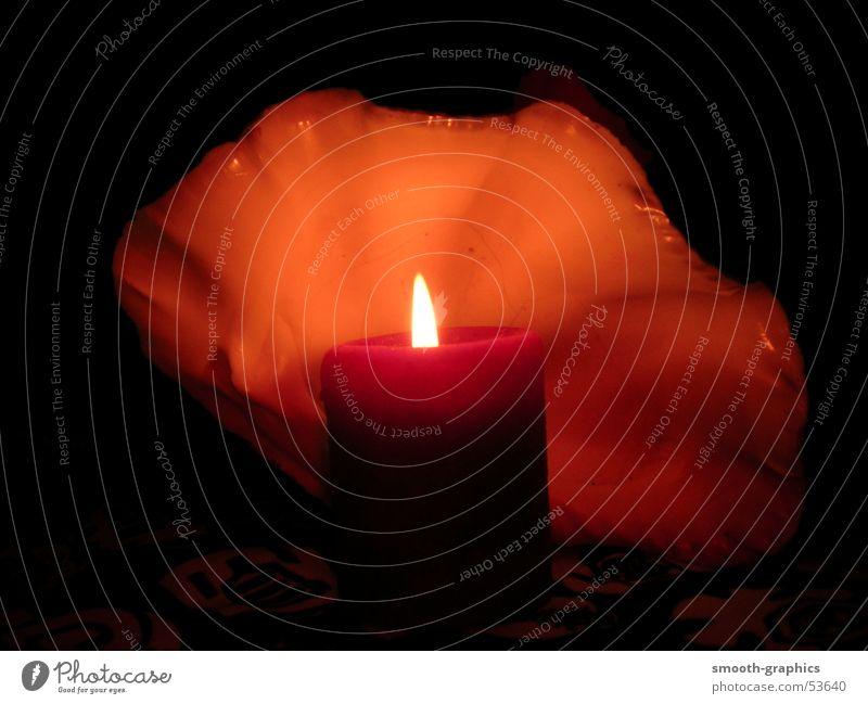 Kerze Abenddämmerung