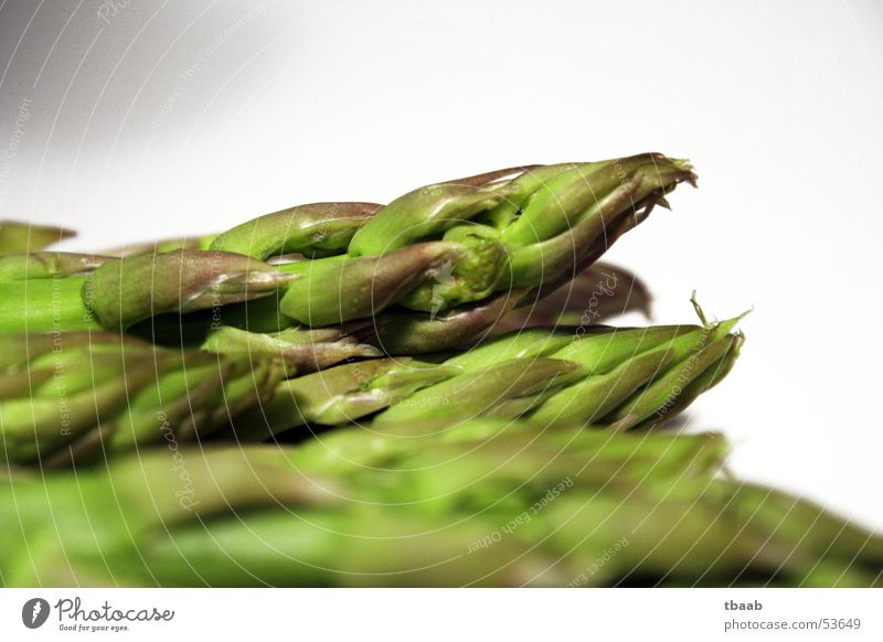 grüne Spargelköpfe Gesundheit Kochen & Garen & Backen Gemüse genießen Vitamin häuten entwässern Spargelkopf