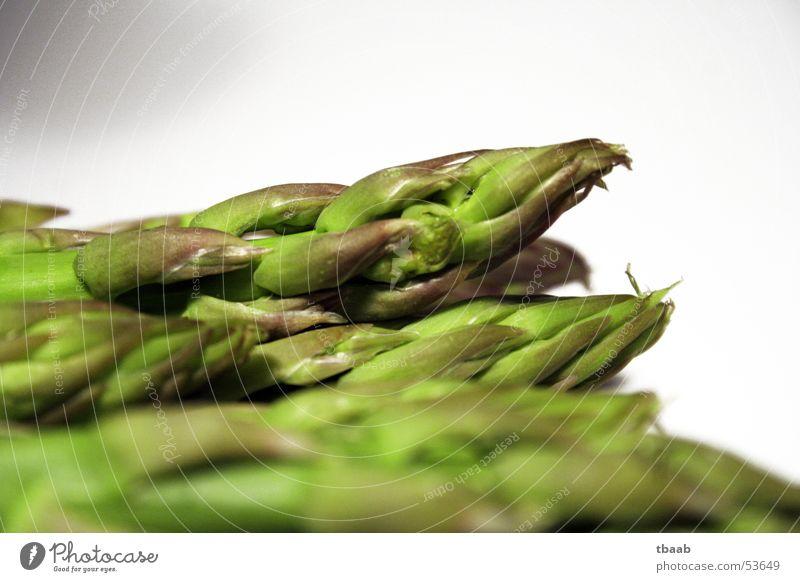 grüne Spargelköpfe grün Gesundheit Kochen & Garen & Backen Gemüse genießen Vitamin Spargel häuten entwässern Spargelkopf