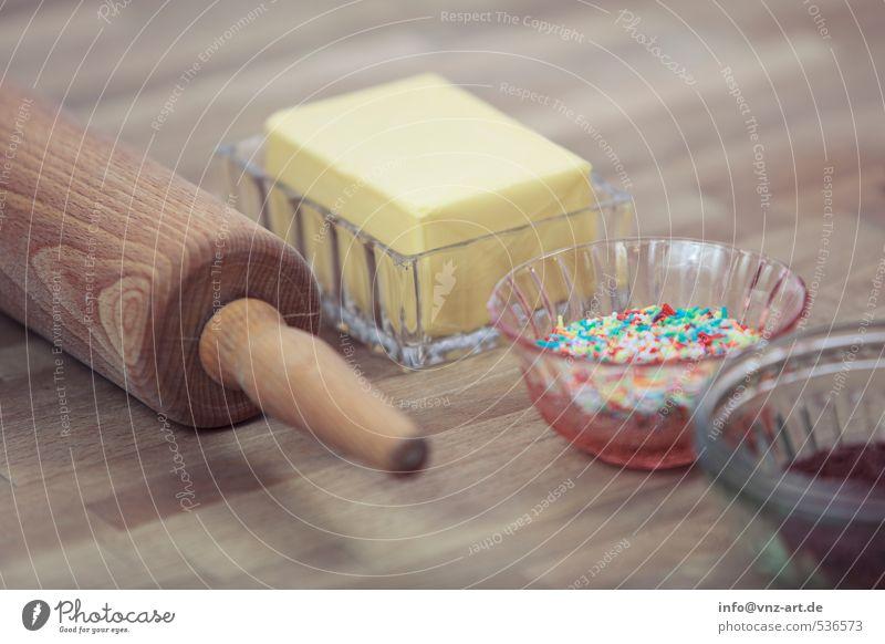 Backen und so! Lebensmittel Kuchen Dessert Süßwaren Ernährung Bioprodukte Freizeit & Hobby Tisch Feste & Feiern Weihnachten & Advent Handwerk gelb kneten