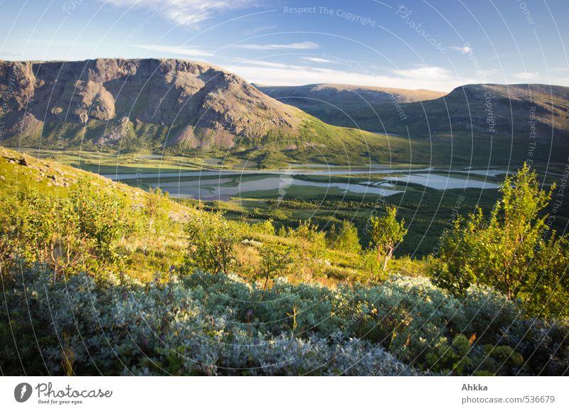mir träumt schön harmonisch Sinnesorgane Erholung Natur Landschaft Klima Schönes Wetter Baum Sträucher Berge u. Gebirge See Fluss Tal ästhetisch authentisch