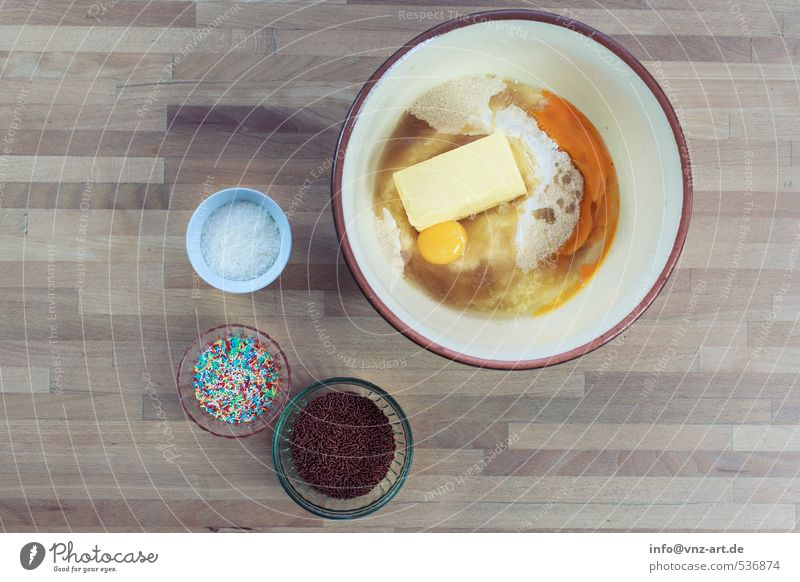 Backen und so! Lebensmittel Kuchen Dessert Süßwaren Ernährung Bioprodukte Freizeit & Hobby Wohnung Tisch Feste & Feiern Weihnachten & Advent Handwerk gelb
