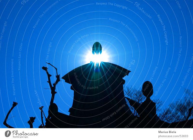 Sonnebruch! Mauer Gotik Licht monament blau gegnlicht nikon d70 blue sun light Architektur