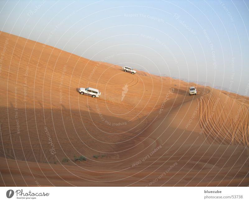 Wüstenschiffe mit PS PKW Sand 3 Wüste Safari