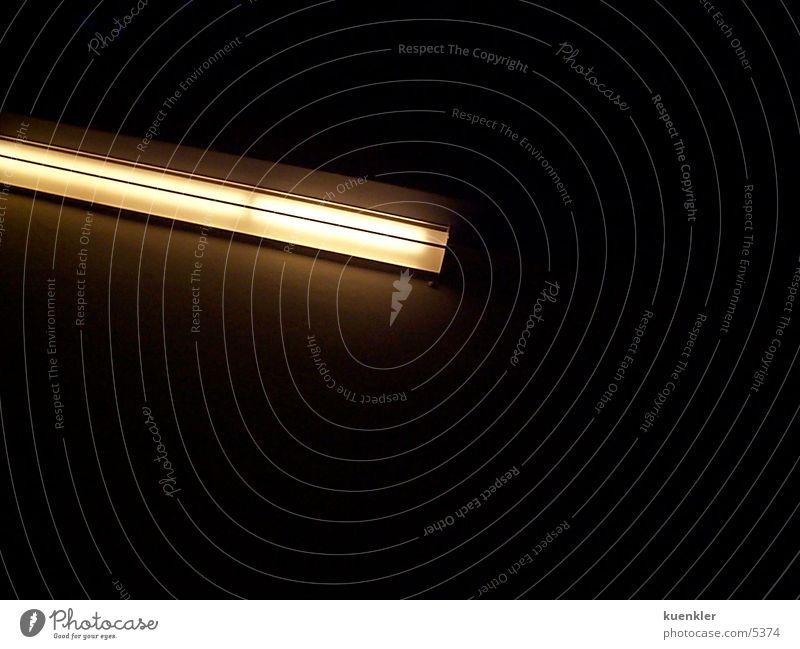 Neonlight Lampe dunkel Dinge Neonlicht