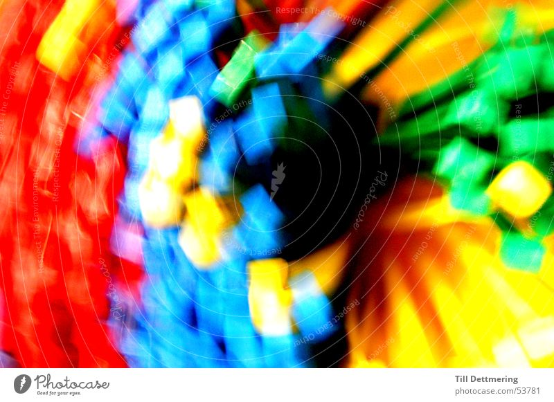 Colorful Kabelbinders Farbe Kreis Statue Spirale Kabelbinder