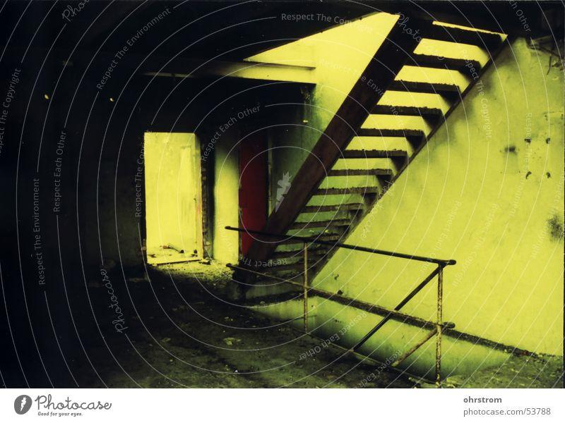 treppe... Einsamkeit Treppe Industriefotografie