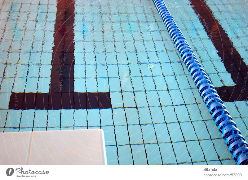 piscina Wasser blau Sport Schwimmbad