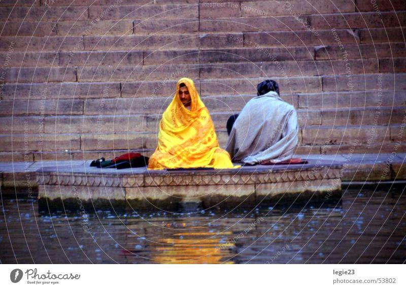 Am Ufer des Ganges Indien Varanasi