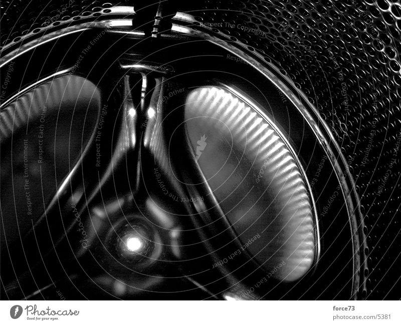 waschmaschine weiß schwarz glänzend Technik & Technologie Maschine Waschmaschine Elektrisches Gerät
