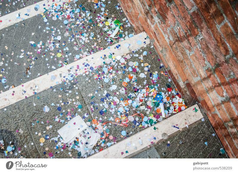 Punktsieg | eindeutig mehr Punkte als Sterne Wand Straße lustig Mauer Glück Party Fröhlichkeit Freundlichkeit Lebensfreude Bürgersteig Karneval Tradition