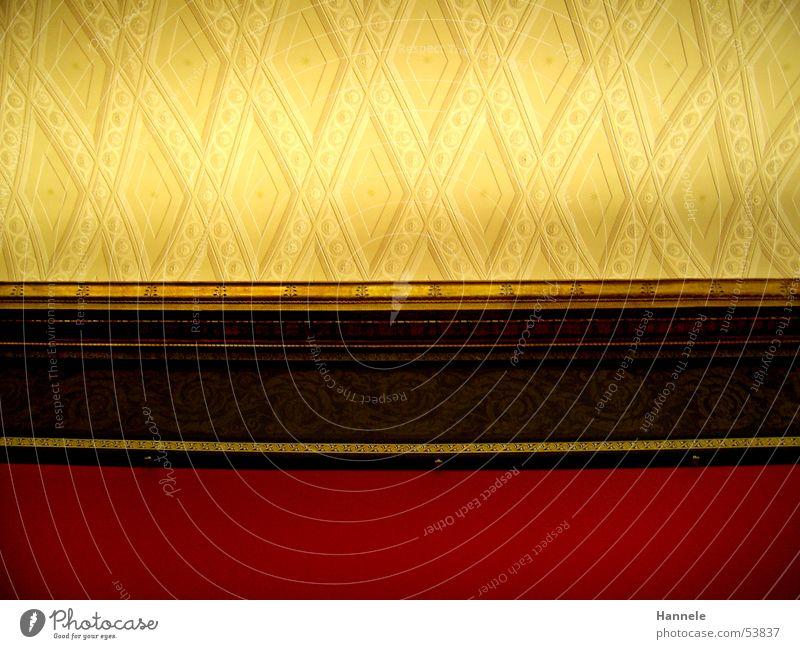 alte nationalgallerie rot Wand braun gold Gemälde Museum