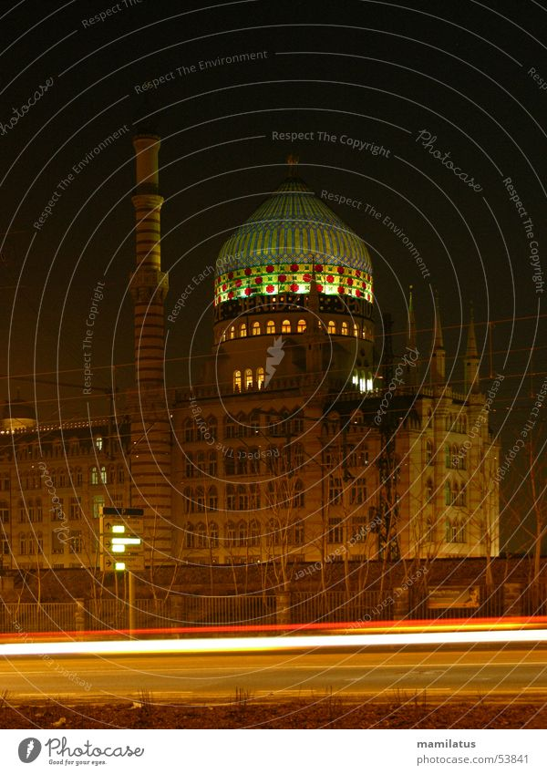 Yenidze Lampe Fabrik Dresden Kuppeldach Moschee Tabakfabrik