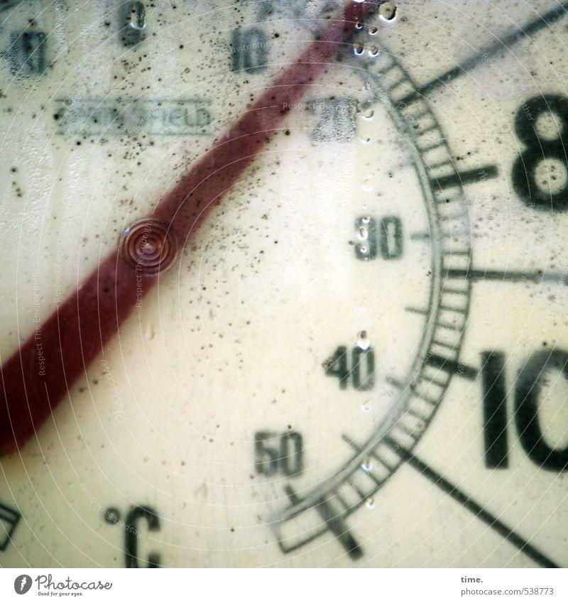 irgendwie so ungefähr 15 Messinstrument Thermometer Technik & Technologie Wissenschaften Wassertropfen Kondenswasser Messanzeige Kunststoff Zeichen