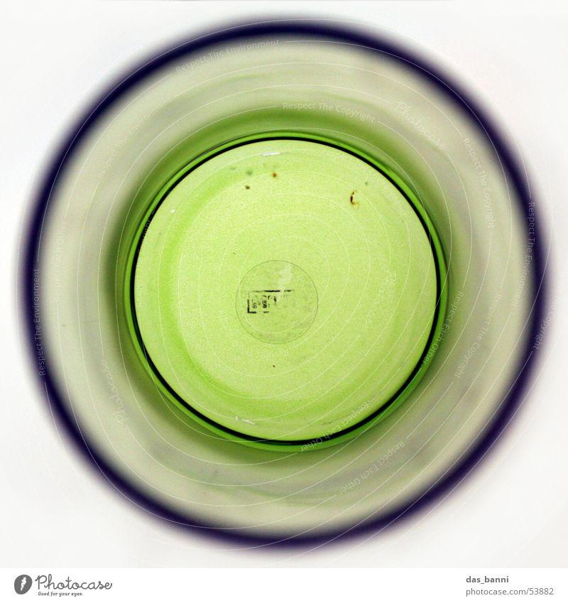 rundung #1 grün Unschärfe durchsichtig weiß Mitte Leuchtkasten Tiefenschärfe Vase Tunnel Quadrat Blume Lifestyle Dinge Design außergewöhnlich Vogelperspektive