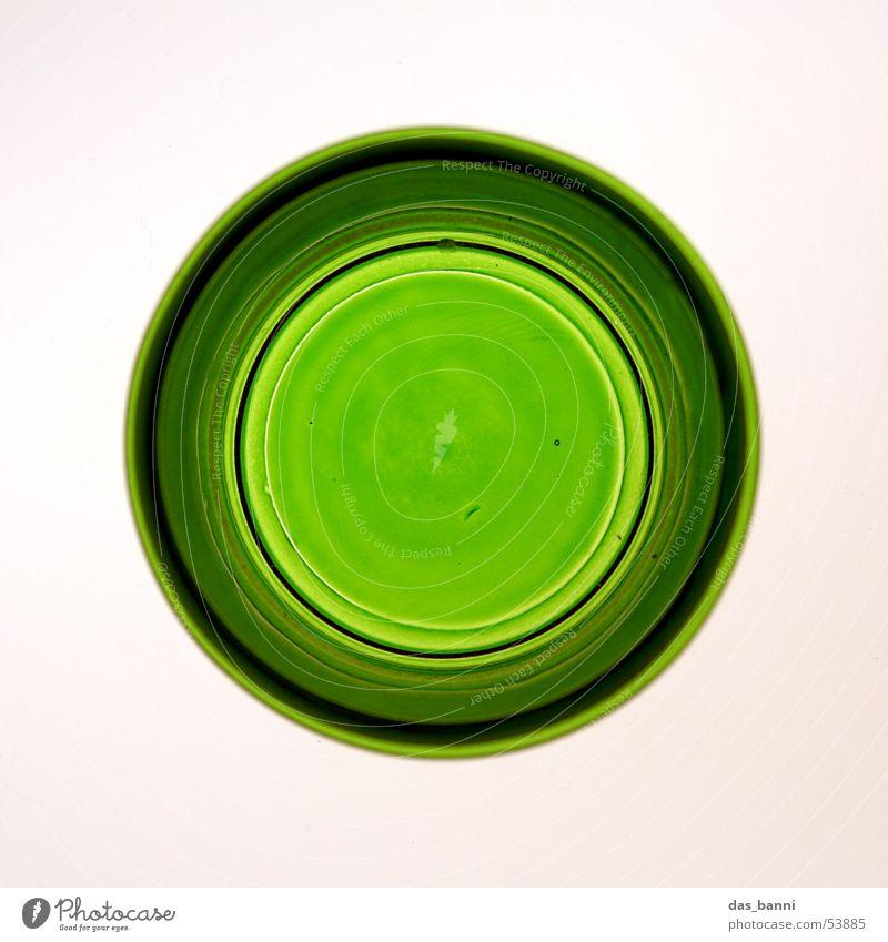rundung #2 Kerzenständer Teelicht Mitte grün leuchtend grün Hintergrundbeleuchtung Leuchtkasten weiß Dinge Haushalt Romantik Vogelperspektive Lifestyle