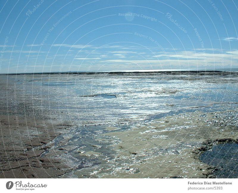 Las Grutas Stein Küste Argentinien Chile Patagonien