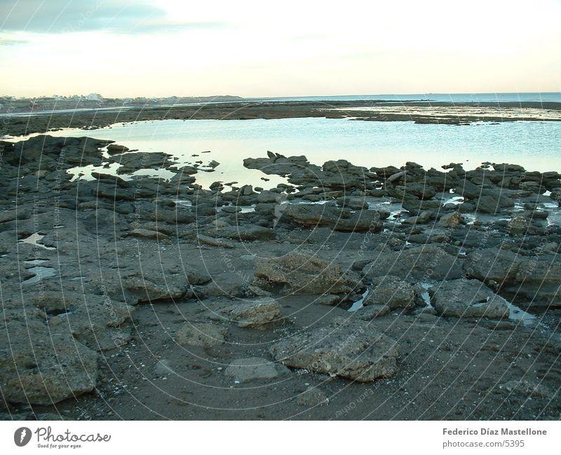 patagonien küste Stein Küste Chile Argentinien Patagonien