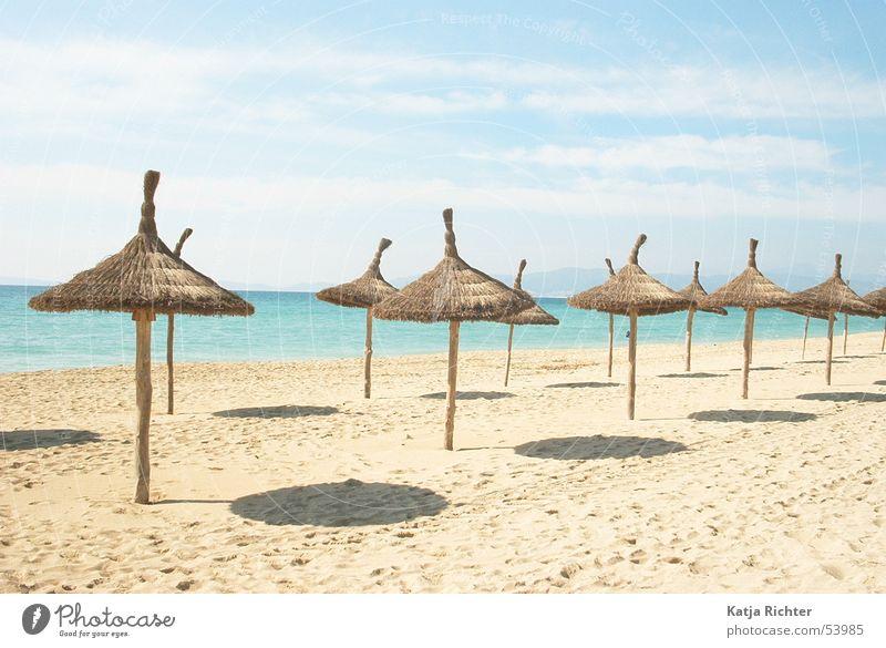 Los Strandos Sonne Meer Strand Spanien Mallorca