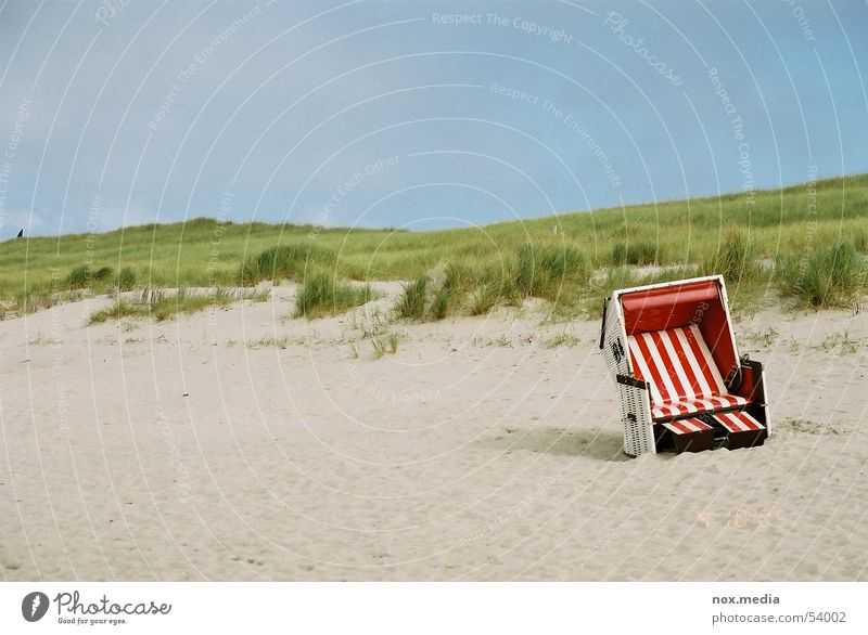 Syltimpressionen Meer Strand Sand Stranddüne Strandkorb