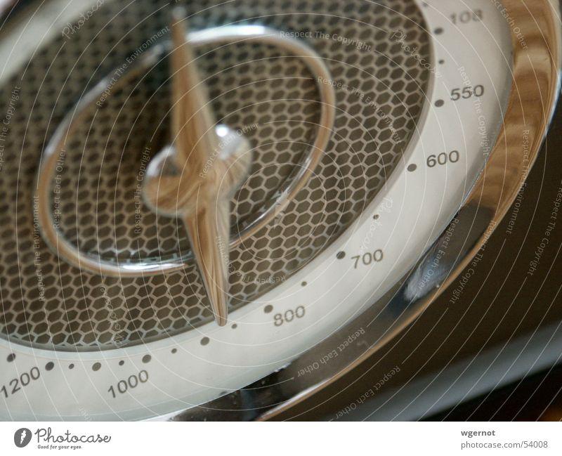 Retroradio alt retro Radio Frequenz
