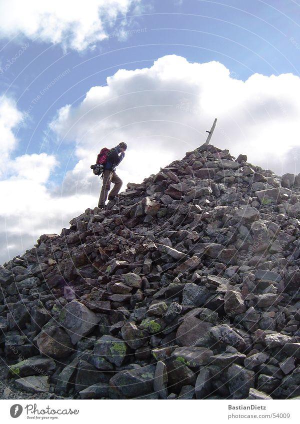 Gipfelstürmer Wege & Pfade wandern Erfolg Ziel Gipfel kommen