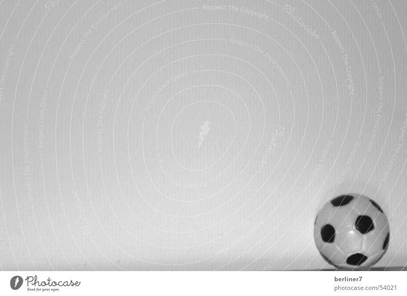 er will nur spielen... weiß schwarz Fußball Ball Leder Weltmeisterschaft
