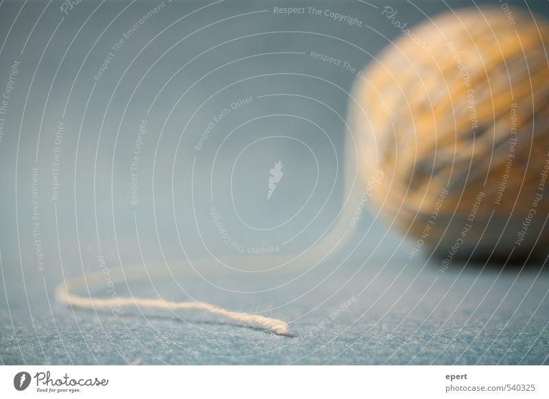 Den Anfang gefunden Freizeit & Hobby Handarbeit stricken Wolle Schnur Knäuel ästhetisch Ausdauer Ordnungsliebe Beginn Inspiration Kreativität Perspektive