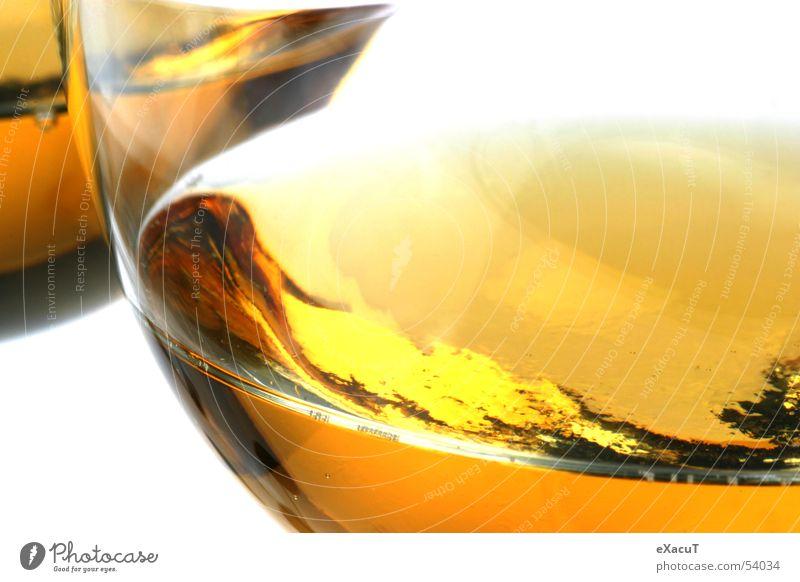 Cheers! Getränk trinken Apfelsaft Flüssigkeit Glas
