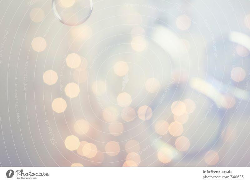 schwebend Weihnachten & Advent gelb Feste & Feiern hell gold elegant Lifestyle rund violett Silvester u. Neujahr Kugel Schweben Blase Seifenblase
