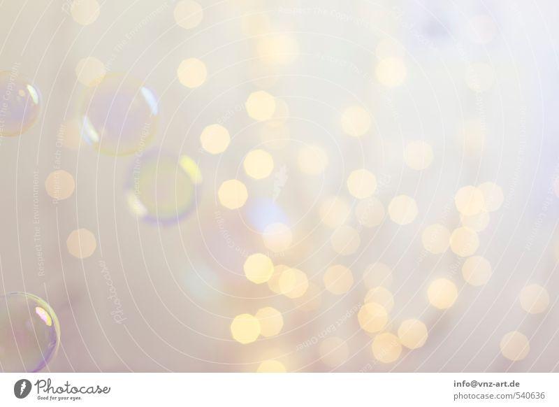Bokeh3 Weihnachten & Advent gelb Feste & Feiern hell gold elegant Lifestyle rund violett Silvester u. Neujahr Kugel Schweben Blase Seifenblase