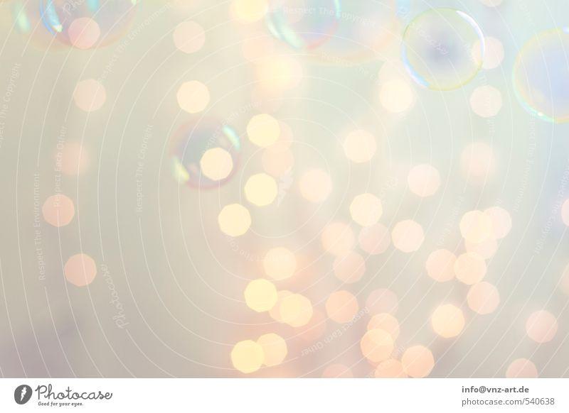Bokeh2 Weihnachten & Advent gelb Feste & Feiern hell gold elegant Lifestyle rund violett Silvester u. Neujahr Kugel Schweben Blase Seifenblase