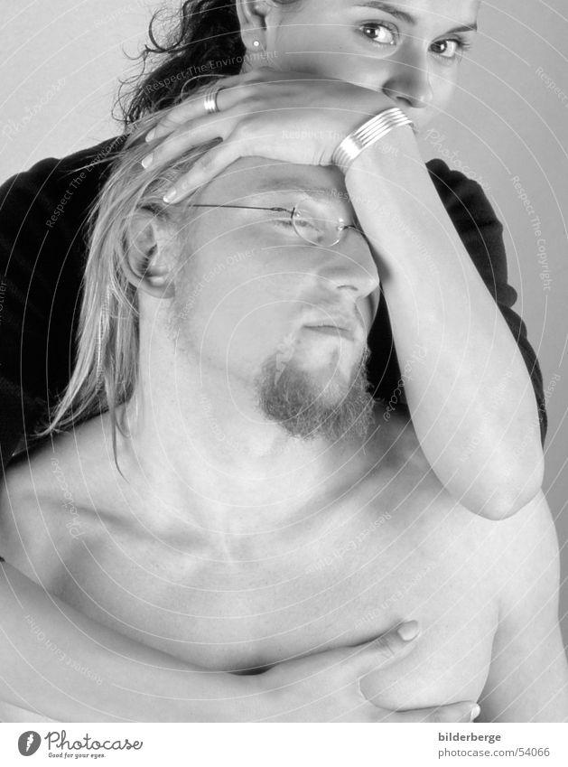Dominanz Frau Hand schön Liebe Erotik feminin Gefühle Sex Akt Kunst Kreis Model trist Brille Lastwagen Leidenschaft