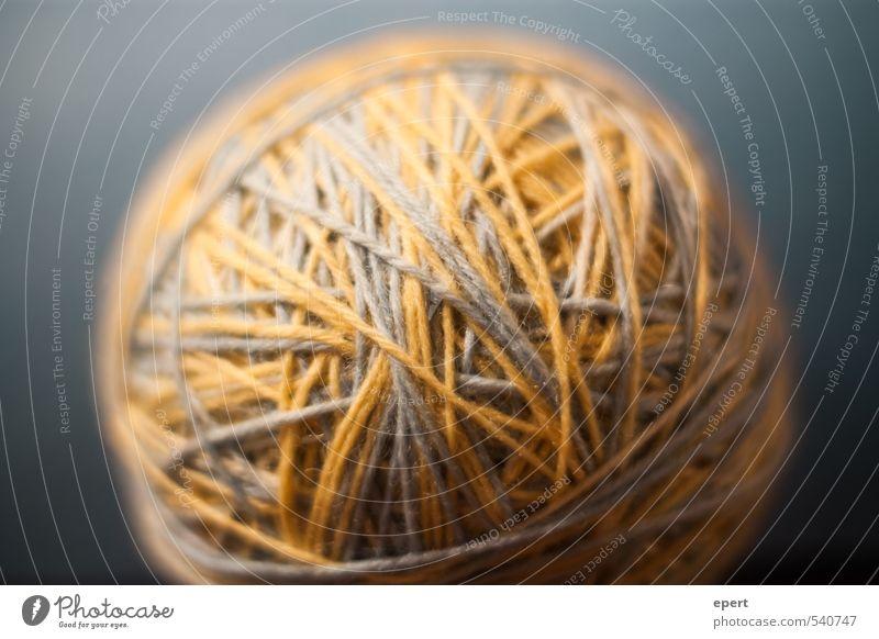 Den Anfang finden Freizeit & Hobby Handarbeit stricken Wolle Knäuel Schnur ästhetisch einfach rund Wärme weich geduldig Ordnungsliebe Beginn Inspiration