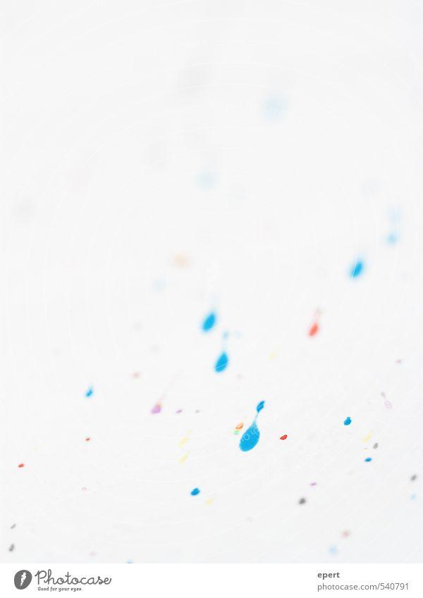 Kunst recycelt Freude Farbstoff Freizeit & Hobby Fröhlichkeit ästhetisch einfach einzigartig Papier rein machen zeichnen Inspiration spritzen Farbfleck klecksen