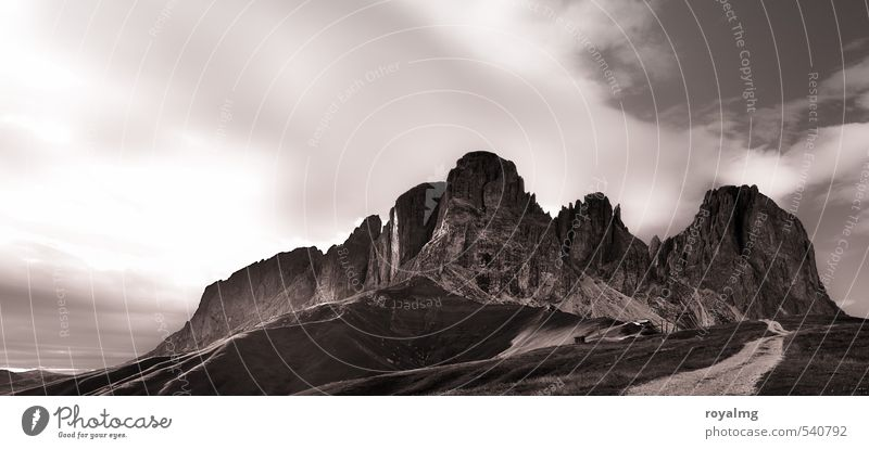 Auszeit Ferien & Urlaub & Reisen Tourismus Ausflug Ferne Berge u. Gebirge wandern Umwelt Natur Landschaft Erde Himmel Wolken Felsen Alpen Gipfel gigantisch