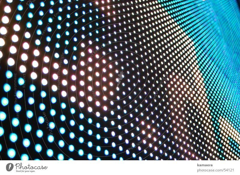 LC-Dots TFT-Bildschirm Mosaik Muster lc-display Punkt