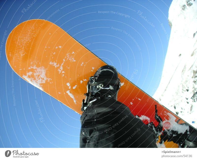 Überflieger weiß Sonne Schnee Wärme Physik