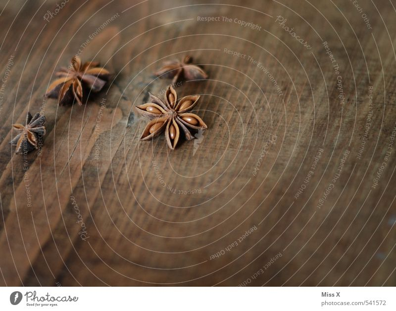 Weihnachtsgewürz Lebensmittel Kräuter & Gewürze Ernährung Dekoration & Verzierung Duft braun Sternanis Zutaten Weihnachtsdekoration Stern (Symbol) Samen