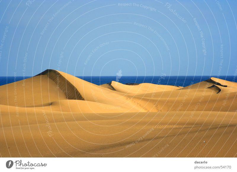 Dünen Wüste Stranddüne Sahara