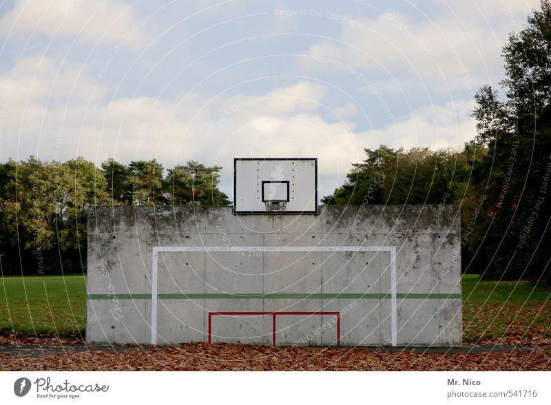 PlayStation Himmel Natur Baum Wolken Blatt Umwelt Wand Wiese Herbst Sport Mauer Spielen Linie Lifestyle Schönes Wetter Fußball