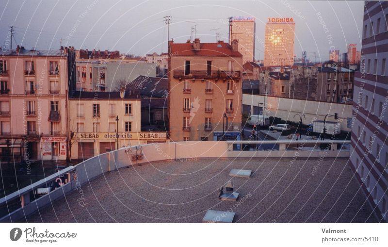 paris: suburbs Haus Architektur Paris Frankreich Vorstadt