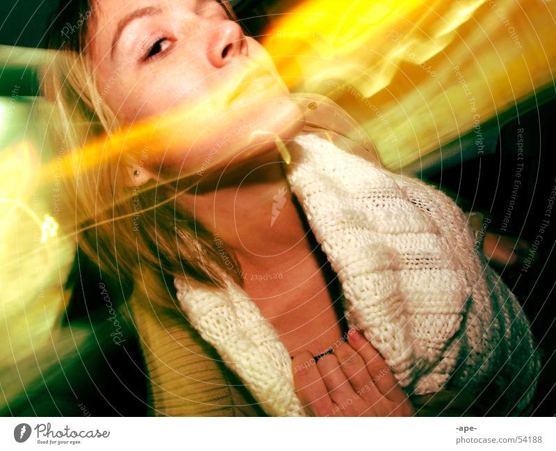 duft die nacht Frau Gefühle PKW Leidenschaft Duft genießen Hals Erwartung geben rollen Kragen Rücksitz Übelriechend