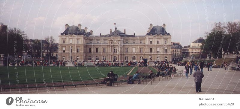palais du luxembourg Trier Architektur Paris Burg oder Schloss Frankreich Luxemburg Palais Kesselstadt